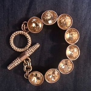 Juicy Couture Gemstone Toggle Bracelet